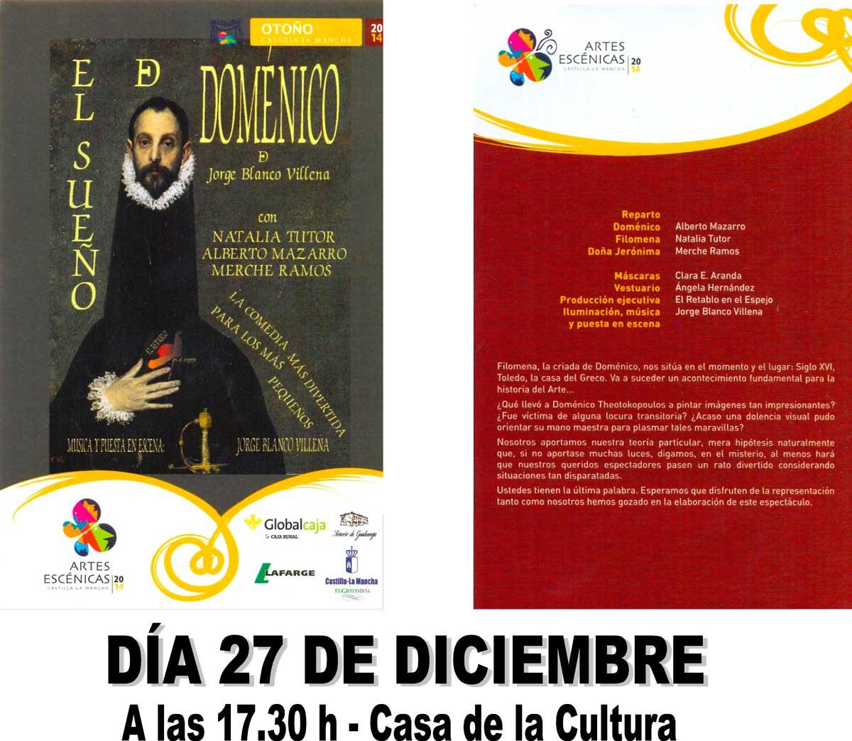 Cartel-El-sueño-de-Doménico-27-12-2014