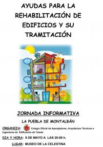 JornadaAyudasRehabilitacionEdificiosyTramitacion-LaPuebladeMontalban